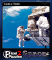 Pixel Puzzles 2 Space Card 4