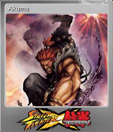Street Fighter X Tekken Foil 1