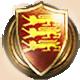 Medieval II Total War Badge Foil