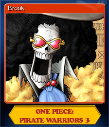 One Piece Pirate Warriors 3 Card 4