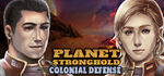 Planet Stronghold Colonial Defense Logo