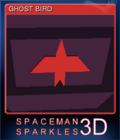 Spaceman Sparkles 3D Card 1