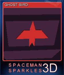 Spaceman Sparkles 3D Card 1
