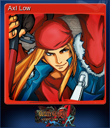 GUILTY GEAR XX ACCENT CORE PLUS R Card 07