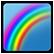 Secret of the Magic Crystals Emoticon rainbow