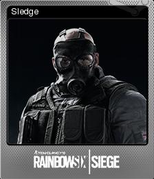Tom Clancy's Rainbow Six Siege Foil 03