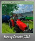 Farming Simulator 2013 Foil 2