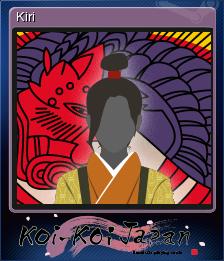 Koi-Koi Japan Card 9