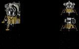Lunar Flight Background Lunar Module