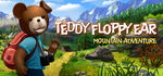 Teddy Floppy Ear Mountain Adventure Logo