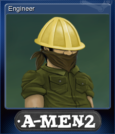 A-Men 2 Card 1
