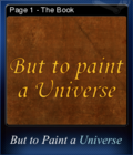 But to Paint a Universe Card 01