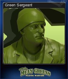 The Mean Greens - Plastic Warfare Card 04