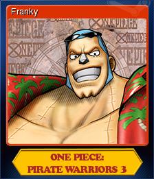 One Piece Pirate Warriors 3 Card 6