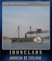 Ironclads 2 American Civil War Card 2