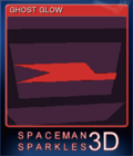 Spaceman Sparkles 3D Card 2