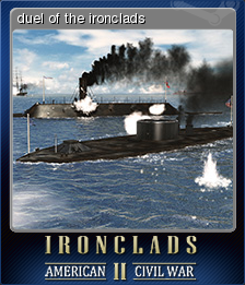Ironclads 2 American Civil War Card 4