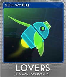 Lovers in a Dangerous Spacetime Foil 1