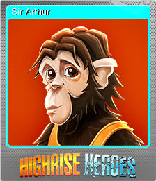 Highrise Heroes Word Challenge Foil 05