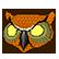 Hotline Miami Emoticon Owl