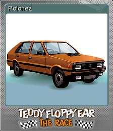 Teddy Floppy Ear - The Race Foil 03
