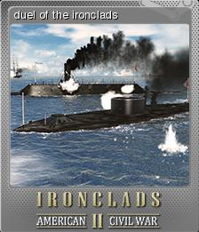 Ironclads 2 American Civil War Foil 4