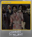 Zombies on a Plane Foil 3