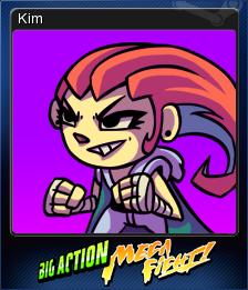 Big Action Mega Fight! Card 5