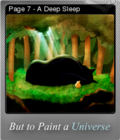 But to Paint a Universe Foil 10