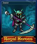 Royal Heroes Card 6