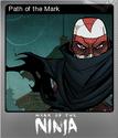 Mark of the Ninja Foil 3