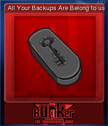 Bunker - The Underground Game Card 02