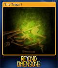 Beyond Dimensions Card 1