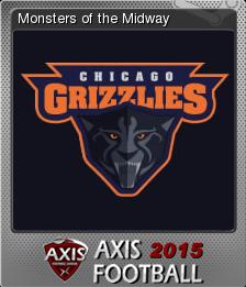 Axis Football 2015 Foil 2