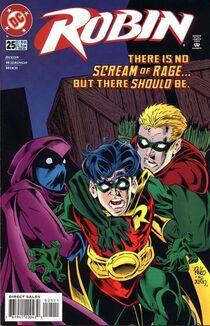 Robin 25 cover