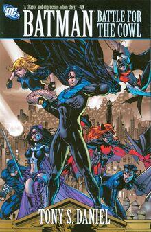 Batman Battle For The Cowl TPB
