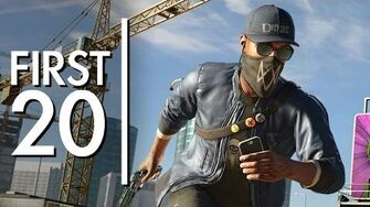 WATCH DOGS 2 - First20