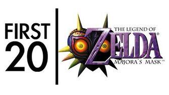 The Legend of Zelda Majora's Mask - First20