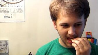 Thomas Tries Japanese KitKats (Day 2039 - 6 25 15)
