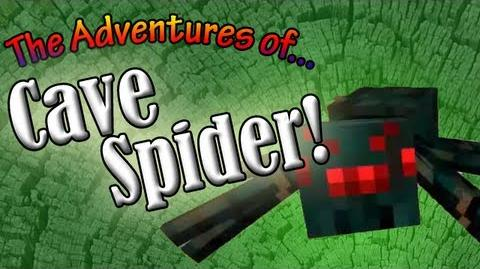 Cave Spider 80's Cartoon