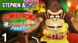 """DKC- Tropical Freeze -1 - """"Winter Is Coming"""" (1-1, 1-2, 1-3)"""
