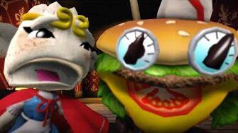 Burger Closeup