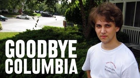 Goodbye Columbia (Day 972 - 7/23/12)
