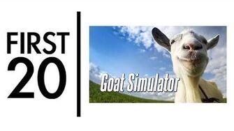Goat Simulator - First20 (w Mal)