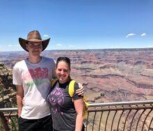 Stephen and Mallory Grand Canyon
