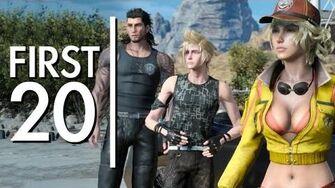 Final Fantasy XV - First20