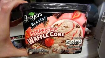 Strawberry Waffle Cone Blast (Day 1844 - 12 12 14)