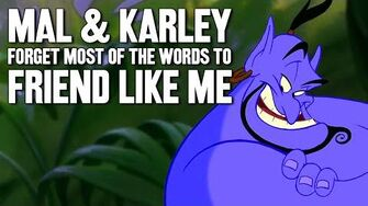 Mal & Karley Sing Friend Like Me