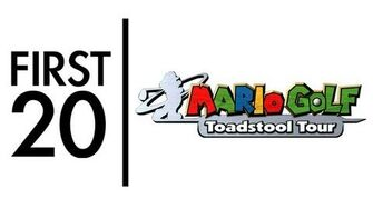 Mario Golf Toadstool Tour - First20