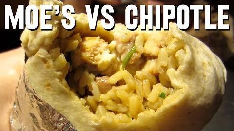 Moe's VS Chipotle (Day 1411 - 10 5 13)